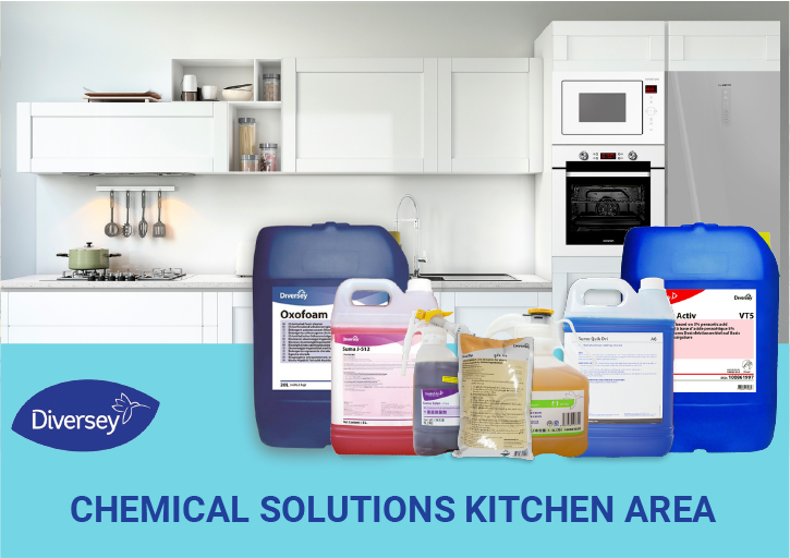 CHEMICAL SOLUTIONS KITCHEN AREA