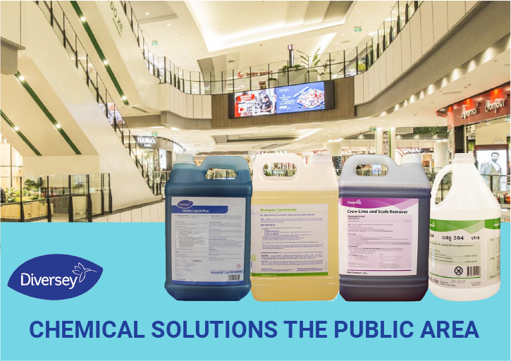 CHEMICAL SOLUTIONS FOR THE PUBLIC AREA